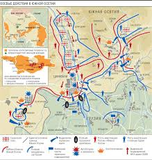 south ossetia map russia s war in and the background chronology to it ud