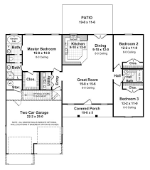 3 Bedroom 2 Bath House Plans 88 Best House Plans Images On Pinterest Small House Plans