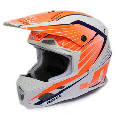 motocross racing helmets jt racing new 2016 mx als 2 0 composite fiber white flo orange