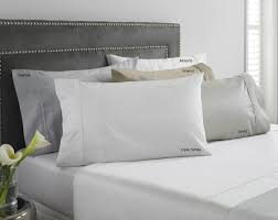 luxury sateen sheets and pillowcases from hotel collection