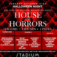 97 all star halloween party 2017 toronto house of horrors