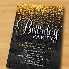 elegant birthday invitations elegant birthday invitations with