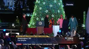 president obama remarks national christmas tree lighting dec 6