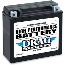 drag specialties 12 volt battery 2113 0012 atv motorcycle