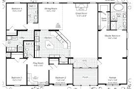 floor plans for 5 bedroom homes architectures mantiques info