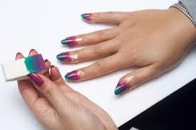 usc news winter ombre nail art tutorial