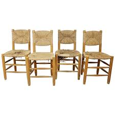 set four chairs by charlotte perriand at 1stdibs