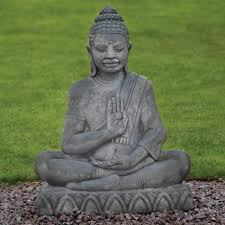 java buddha statue large garden ornament s s shop