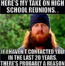 high school reunions meme