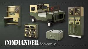 Bedroom Furniture For Kids Army Commando Theme Bed Bedroom Furniture For Kids Children From