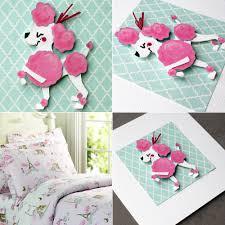 Mod Pod Pop Monkey Crib Bedding by Illustration Mindi Leatham