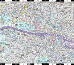 Map Paris France by Streetwise Paris Map Laminated City Center Street Map Of Paris