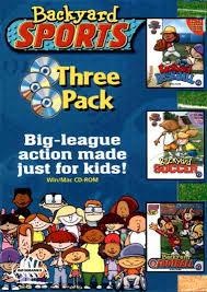 Backyard Sport Games Backyard Sports Three Pack From Cdaccess Com