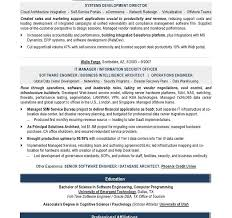 Data Architect Sample Resume by Sample It Resume Haadyaooverbayresort Com