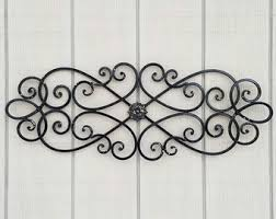 Iron Wrought Wall Decor Metal Wall Art Etsy