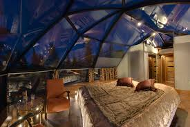 norway northern lights igloo you can rent a glass igloo in finland to watch the northern lights