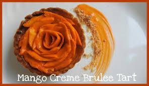 mango creme brulee tart baking tutorials bakelicious youtube