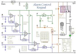 how to build a simple alarm control keypad