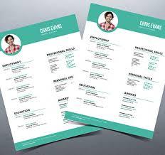 Resume Template Modern by 40 Best 2018 S Creative Resume Cv Templates Printable Doc