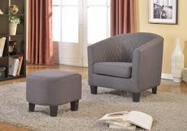 Ottoman Chair Latitude Run Salter Solid Barrel Chair And Ottoman U0026 Reviews Wayfair