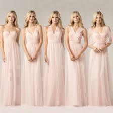 blush bridesmaid dress blush bridesmaid dress 2017 wedding ideas magazine weddings