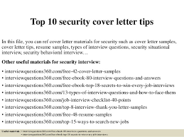 top 10 security cover letter tips 1 638 jpg cb u003d1430534946