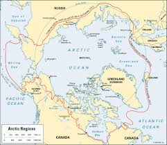Northern Canada Map by Arctic Britannica Com