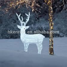 120cm led light up acrylic reindeer outdoor decoration
