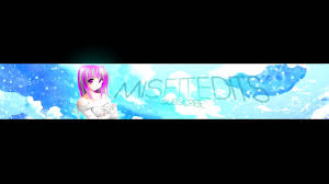 5 free anime youtube banner template psd download purgedesigns