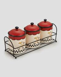 italian kitchen canisters kitchen storage ceramic canister sunflower design 3 piece spice