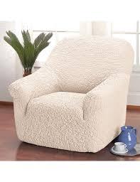 fauteuil et canapé housse unie bi elastico pour fauteuil canapé canapé d angle