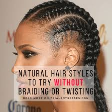 plating hairstyles hair styles to try without braiding or twisting