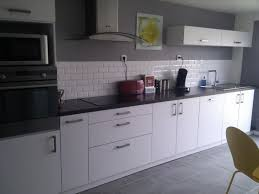 deco cuisine grise et ides de deco cuisine gris et blanc galerie dimages