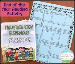 end of the year activities for upper elementary teaching with a