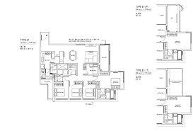 Sqm To Sqft by Jewel At Buangkok Condo U2013 Floor Plan U2013 5 Bedroom U2013 E1 U2013 152 Sqm