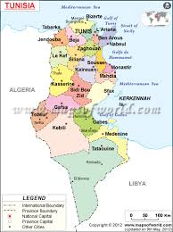 map of tunisia with cities map of tunisia with cities search maps