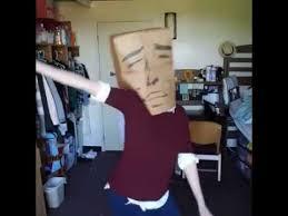 Meme Bag - paper bag over head dance meme youtube