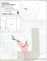 Yuma Az Map 1 Map Of Study Sites In Kofa National Wildlife Refuge Yuma