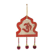 Buy Antique Mehraab Design Cut Marble Om Wall Hanging Online - Indian wall hanging designs