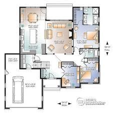 le bureau v2 plan de rez de chaussée maison style américaine 2 à 3 chambres