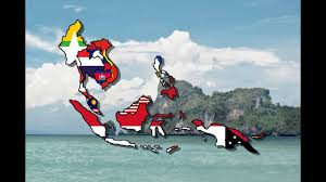 Southeast Asia Flags Southeast Asia Flag Map Speed Art Youtube