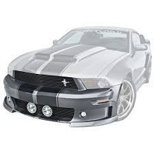 Black Mustang 2010 Cervini Mustang Body Kit C Series Unpainted V6 Gt Coupe 2010