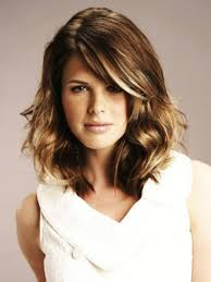 medium length wavy hairstyle medium length hairstyles brown