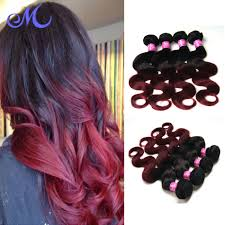 Hair Extension Malaysia by Mocha Hair Malaysian Body Wave Red Virgin Malaysian Hair 4 Bundles