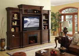 living room entertainment center decorating ideas with brown