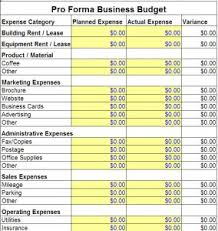 restaurant budget template budget template free