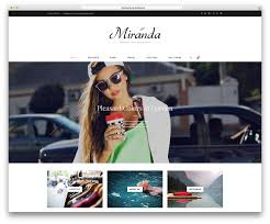 Home Design Inspiration Instagram 20 Best Fashion Blog U0026 Magazine Wordpress Themes 2017 Colorlib
