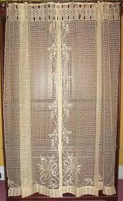 Antique Lace Curtains Antique Lace Curtains Antique Net Floral Lace Drapes Curtains