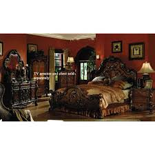 amazon com 4pc solid pine queen size bed complete king size bedroom sets amazon com