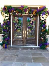 mardi gras door decorations mardi gras decor could be an entrance idea birthday ideas